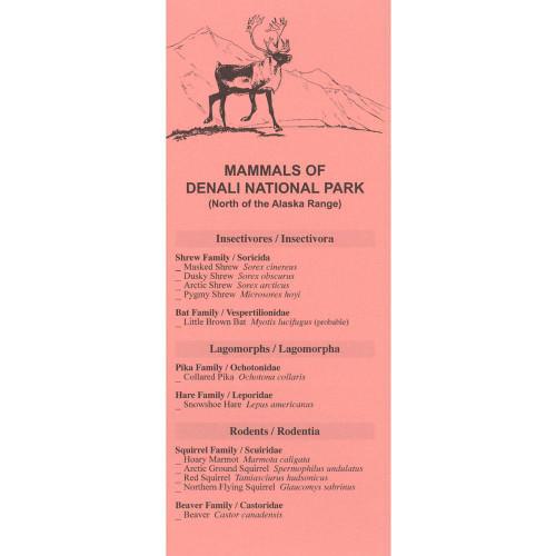 Mammals of Denali National Park - Checklist