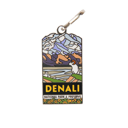 Zipper Pull -  Denali National Park & Preserve