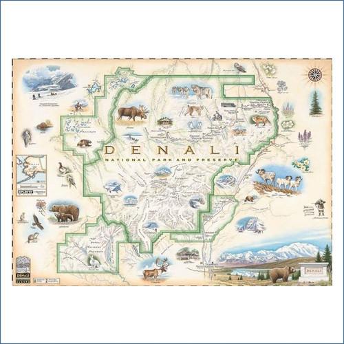 Denali Xplorer Map