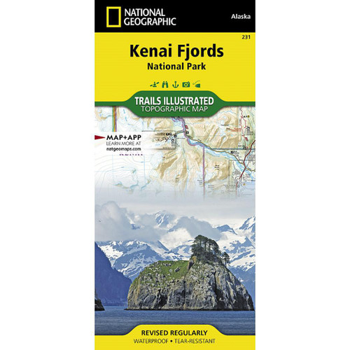 Kenai Fjords National Park National Geographic Trails Illustrated Map