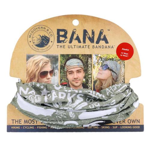 Bana - Green & White - Alaska Geographic