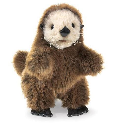 Plush - Hand Puppet - Baby Sea Otter
