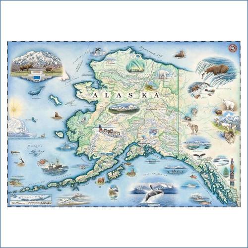 Alaska Xplorer Map