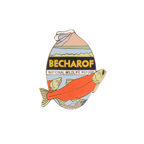Pin - Becharof National Wildlife Refuge