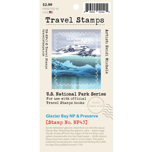 Travel Stamp - Glacier Bay National Park & Preserve