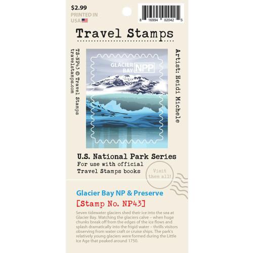 Travel Stamp - Glacier Bay National Park & Preserve