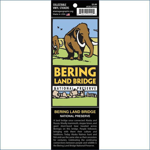 Sticker -  Bering Land Bridge National Preserve