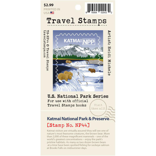 Travel Stamp - Katmai National Park & Preserve