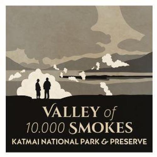 Magnet - Valley of 10,000 Smokes. Katmai