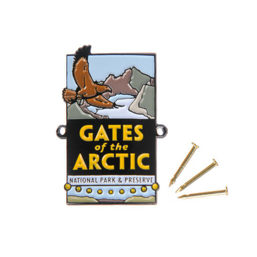 Hiking Medallion - Gates of the Arctic National Park & Preserve