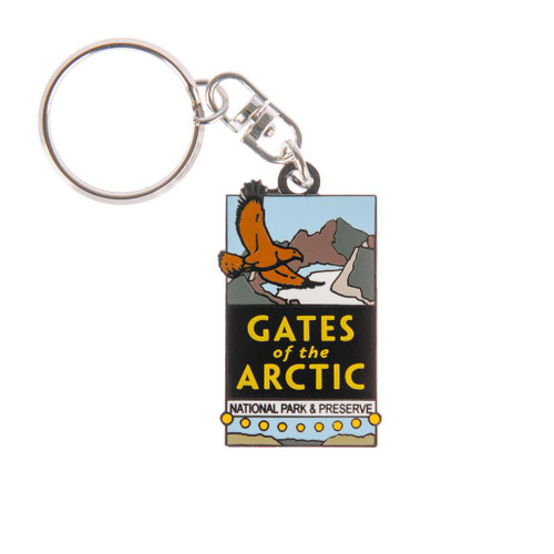 Keychain -  Gates of the Arctic National Park & Preserve