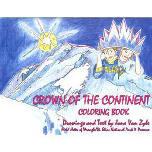 Crown of the Continent Coloring Book