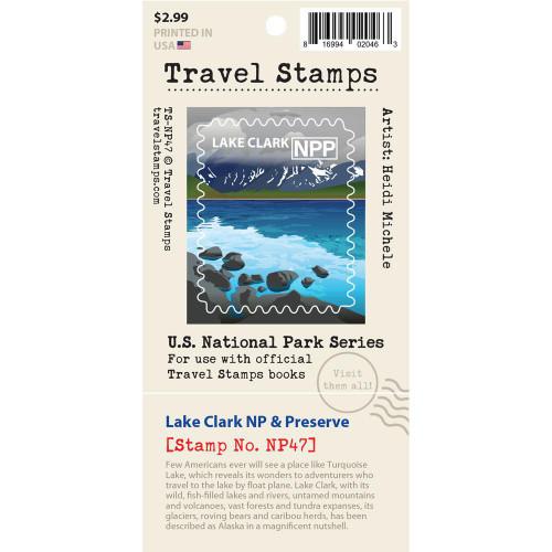 Travel Stamp - Lake Clark National Park & Preserve