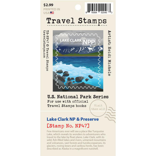 Travel Stamp - Lake Clark National Park & Preserve