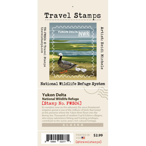 Travel Stamp - Yukon Delta National Wildlife Refuge
