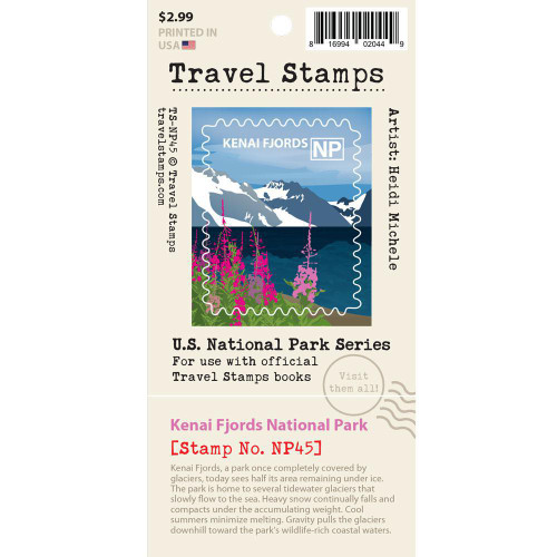 Travel Stamp - Kenai Fjords National Park