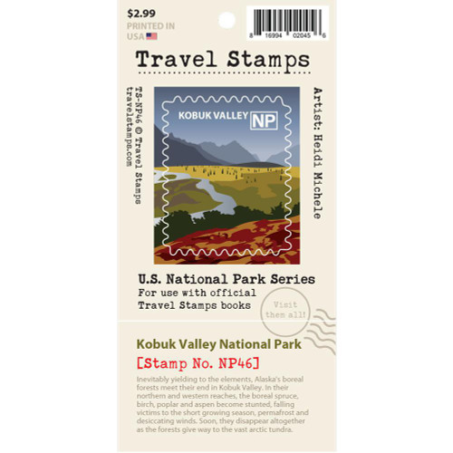 Travel Stamp - Kobuk Valley