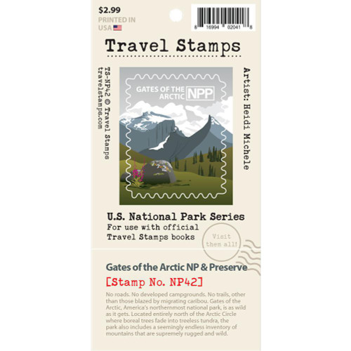 Travel Stamp - Gates of the Arctic