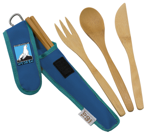 Utensil Set: Save our Seas Kenai Fjords