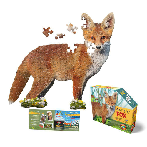 Puzzle - I AM Lil' Fox - 100-piece