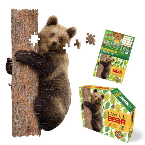 Puzzle - I AM Lil' Bear - 100-piece