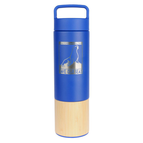 Bamboo Water Bottle - Save our Seas - Kenai Fjords National Park