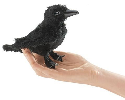 Plush - Finger Puppet - Raven