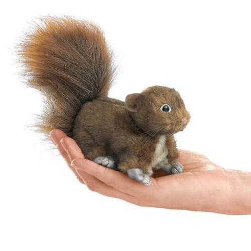 Plush - Finger Puppet - Red Squirrel