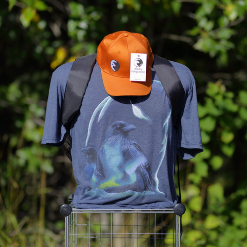 T-Shirt - Raven and Polar Bear - Alaska Geographic