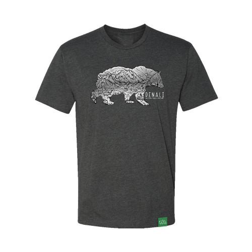 T-Shirt - Denali Sketch Bear