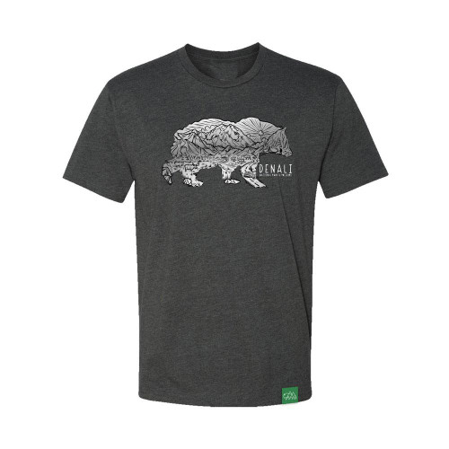 T-Shirt - Denali Sketch Bear