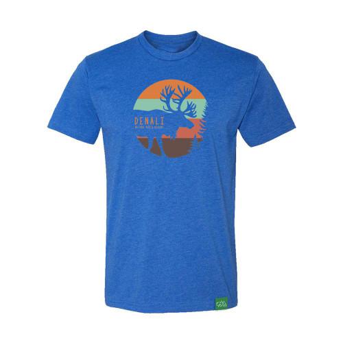 T-Shirt - Denali Vintage Caribou