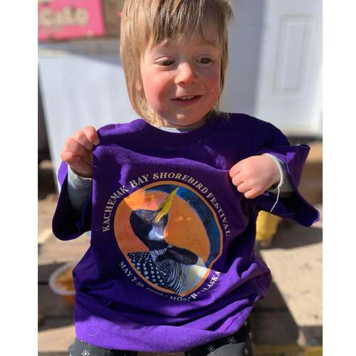 Youth T-Shirt - Kachemak Bay Shorebird Festival