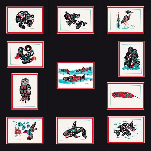 "Shotridge Matted Prints - 10"" X 8"""