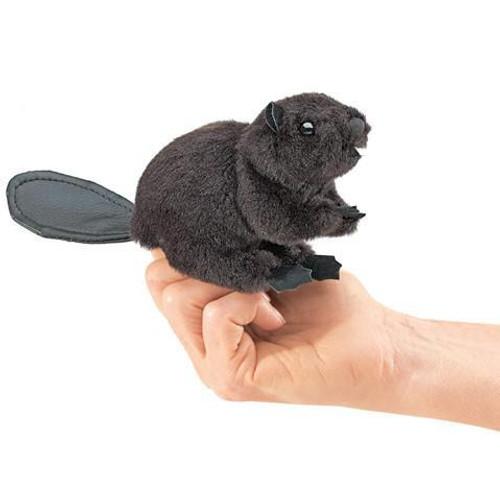 Plush - Finger Puppet - Beaver