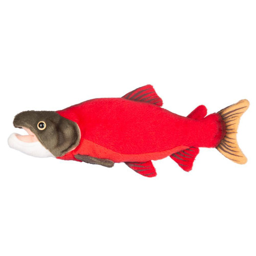 "Plush - Sockeye Salmon - 10"""