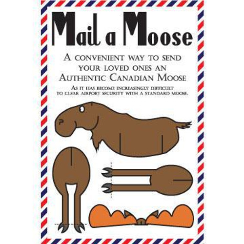 Mail-a-Moose Post Card