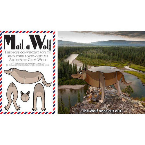 Mail-a-Wolf Post Card