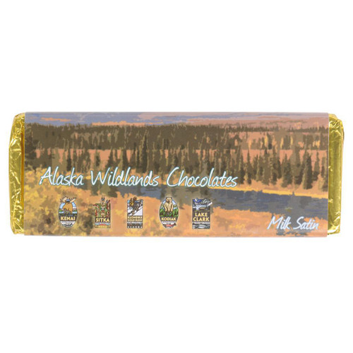 Milk Chocolate Bar - Alaska Wildlands