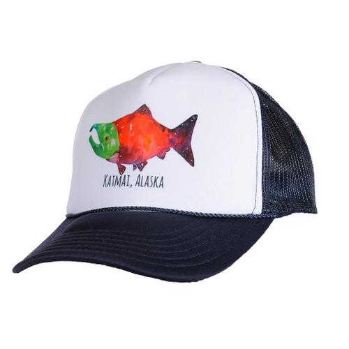 Hat - Salmon - Katmai