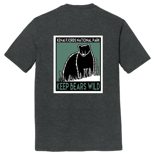 T-Shirt - Keep Bears Wild - Kenai Fjords
