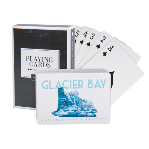 Playing Cards - Glacier - Glacier Bay National Park & Preserve