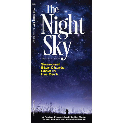 Night Sky, The: A Folding Pocket Guide to the Moon, Stars, Planets & Celestial Events
