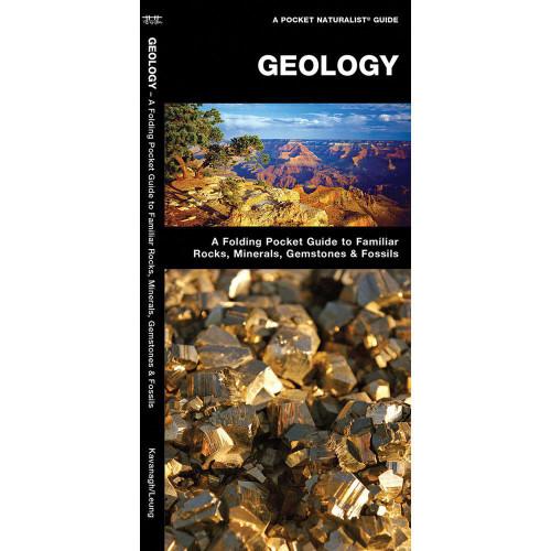 Geology: A Folding Pocket Guide to Familiar Rocks, Gemstones, Minerals & Fossils