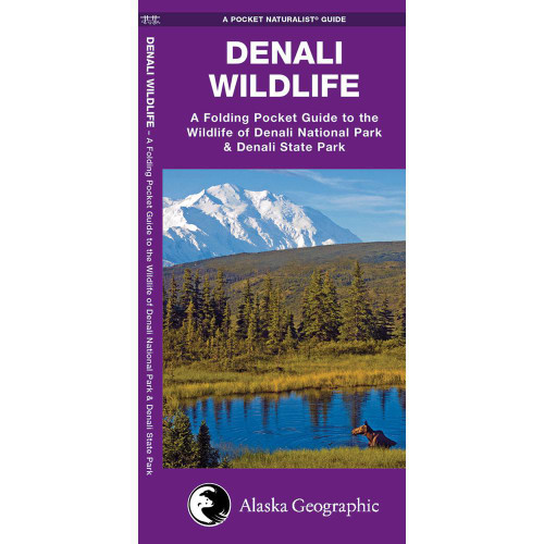 Denali Wildlife: A Folding Pocket Guide to the Wildlife of Denali National Park & Denali State Park