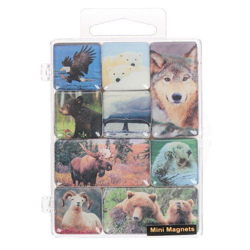 Magnet Pack - Alaska Wildlife Mini Magnets
