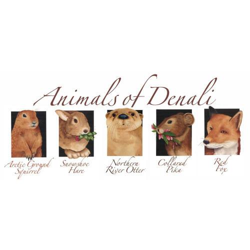 Nature of Denali Animals Note Cards Marshall Arts