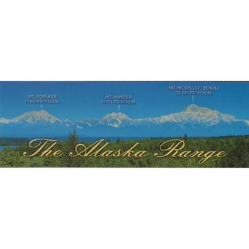 Magnet - Alaska Wild Images - Panoramic Alaska Range