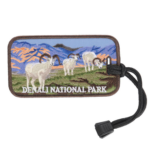Luggage Tag - Denali Sheep Graze
