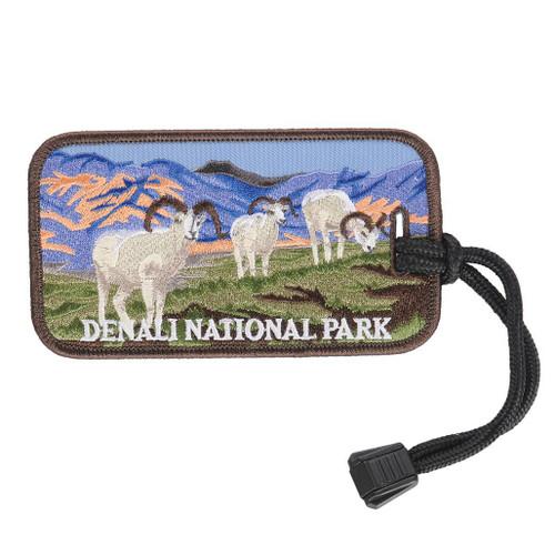 Luggage Tag - Denali Sheep Graze